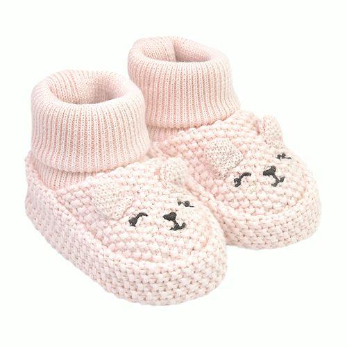 Baby Girl Carter's Bear Terry Booties