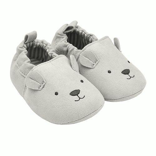 Baby Carter's Bear Zoomer Crib Shoes