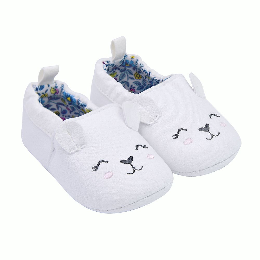 Baby Girl Carter's Bear Zoomer Crib Shoes