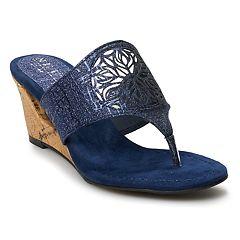 5e2f4168f192 New York Transit Festival for All Women s Wedge Sandals