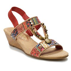 New York Transit Temptation Women's Wedge Sandals