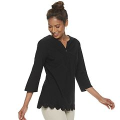 9f8e07143af8d6 Womens V-Neck Button-Down Shirts Shirts & Blouses - Tops, Clothing ...