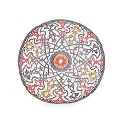 JS Jessica Simpson Puebla Round Decorative Pillow - 14' x 14'