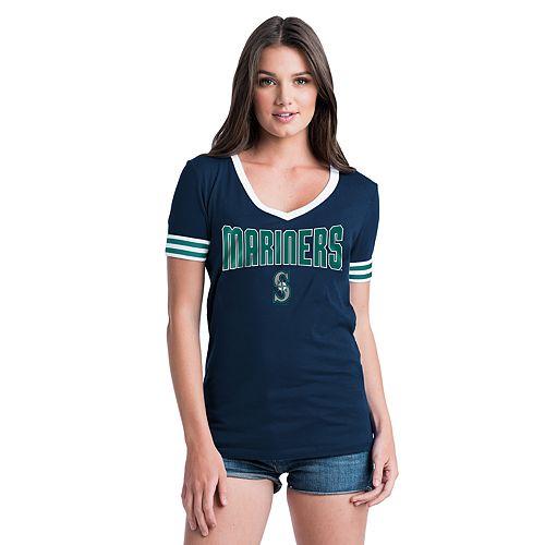 Women's New Era Seattle Mariners Jersey Tee