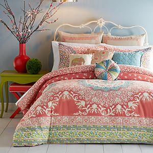 "JS Jessica Simpson Amrita Medallion Pompom Decorative Pillow - 14"" x 14"""