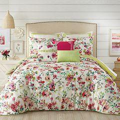 JS Jessica Simpson Watercolor Garden Comforter Set