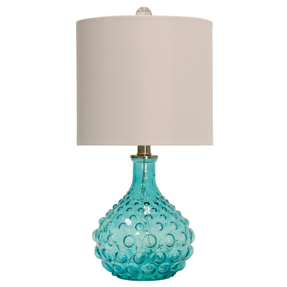 Blue Bubble Table Lamp