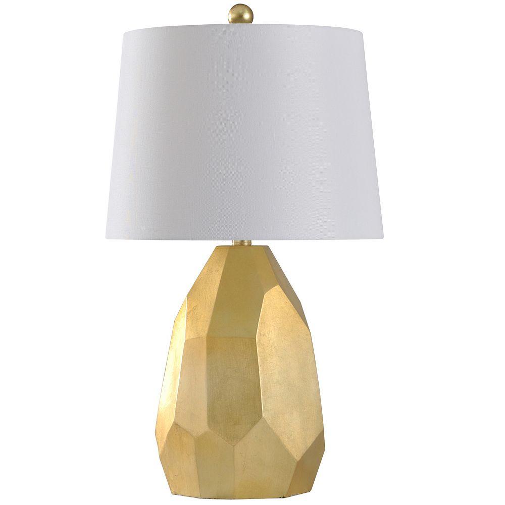 Abstract Metallic Table Lamp