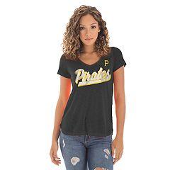 Women's New Era Pittsburgh Pirates Slubbed Tee