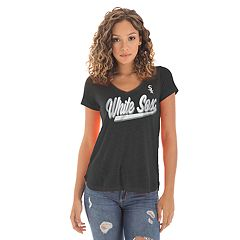 Women's New Era Chicago White Sox Slubbed Tee