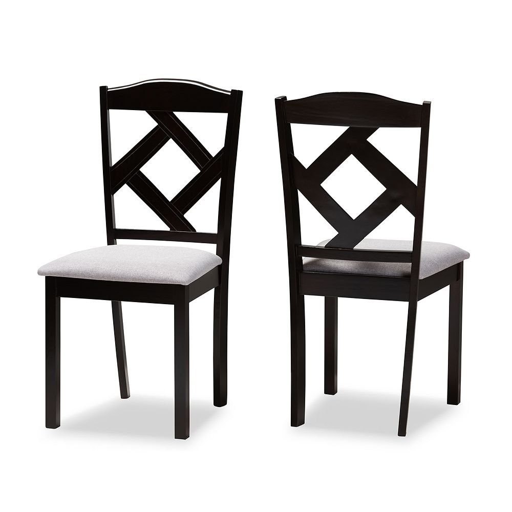 Baxton Studio Ruth Dining Chair 2-piece Set