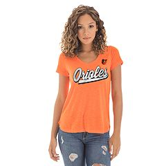 Women's New Era Baltimore Orioles Slubbed Tee