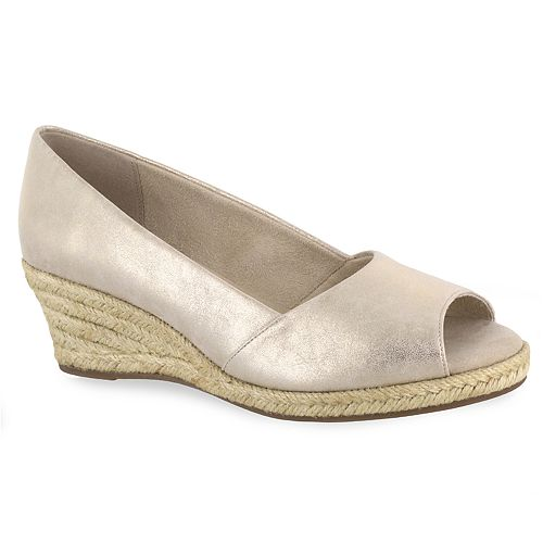 Easy Street Monique Women's Espadrille Wedges