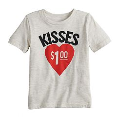 Toddler Boy Jumping Beans® 'Kisses $1.00' Graphic Tee