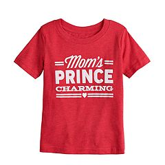 Toddler Boy Jumping Beans® 'Mom's Prince Charming' Graphic Tee