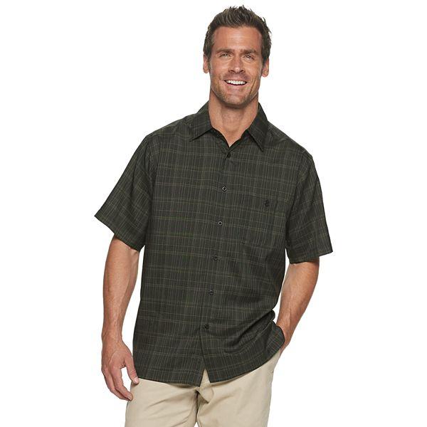 Men's Haggar® Short Sleeve Microfiber Shirt