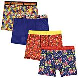 Boys 8-10 Super Mario Bros. 4-Pack Cool Yarn Boxer Briefs