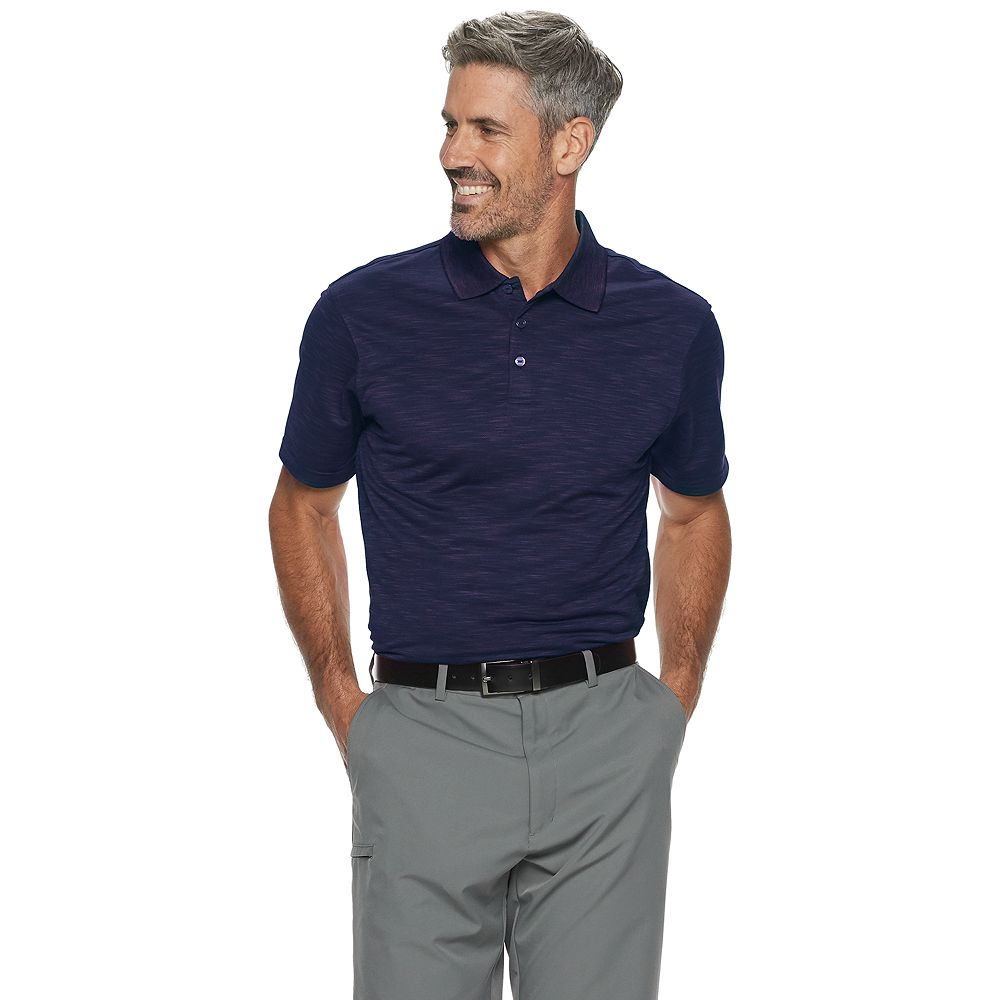 Men's Haggar® Classic-Fit Textured Polo
