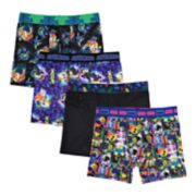 Boys 6-10 Lego Movie II 4-Pack Boxer Briefs