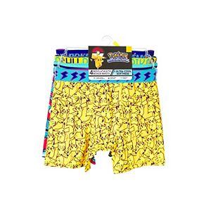 Boys 8-10 Pokemon 4-Pack Cool Yarn Boxer Briefs