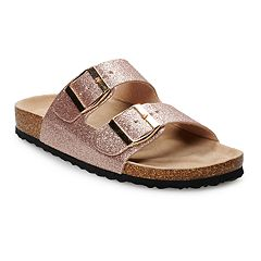 b2c84be621d8 SO® Solange Women s Buckled Sandals. Rose Gold Pewter Denim