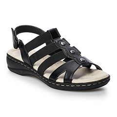 922217d15 Croft   Barrow Depot Women s Strappy Sandals. Black Silver Red White ...