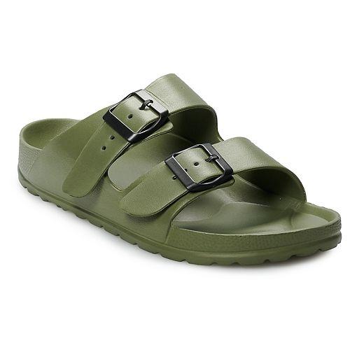 4d15fdb151ba Men s Molded EVA Double-Buckle Sandals