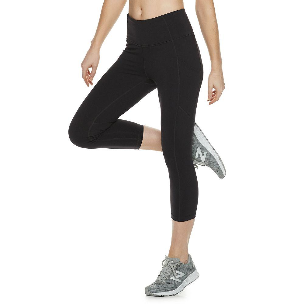 Women's Tek Gear® High-Waisted Shapewear Capri Leggings