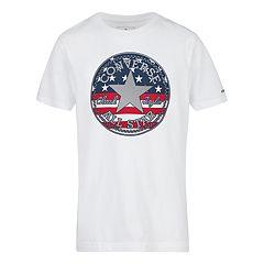 60ce9c0d Boys 8-20 Converse Americana Graphic Logo Tee. Dark Gray Heather White