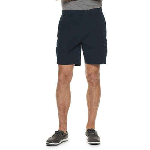 Men's Croft & Barrow® Classic-Fit Flex-Tab 7.5-inch Twill Cargo Shorts