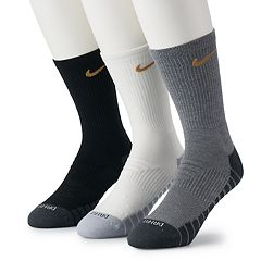 Men's Nike 3-pack Dry Metallic Crew Socks