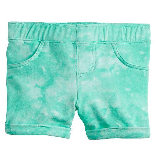 Toddler Girl Jumping Beans® Tie-Dye Midi Jeggings Shorts