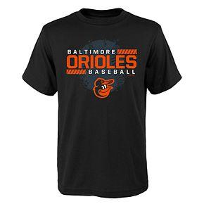 Boys 4-18 Baltimore Orioles Knuckle Ball Tee