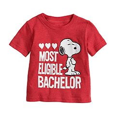 Baby Boy Jumping Beans® Peanuts Snoopy 'Most Eligible Bachelor' Graphic Tee