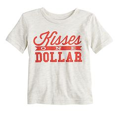 Baby Boy Jumping Beans® 'Kisses One Dollar' Graphic Tee