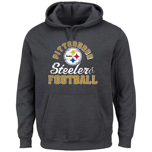 35b7a7fa253 Big & Tall Pittsburgh Steelers Kick Return Hoodie