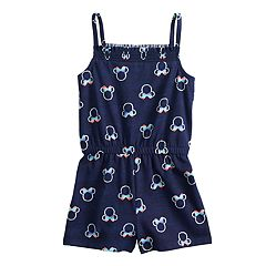 a96e8a962971 Disney's Minnie Mouse Toddler Girl Print Romper by Jumping Beans®