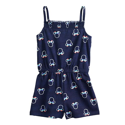 Disney's Minnie Mouse Toddler Girl Print Romper by Jumping Beans®