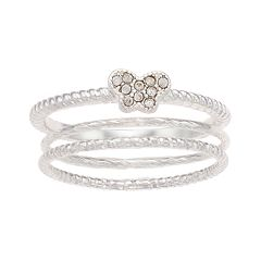 LC Lauren Conrad Butterfly Ring Set