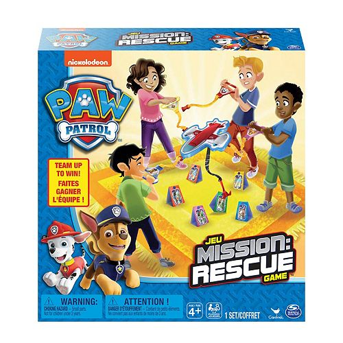 PAW Patrol Mission: Rescue Game by Cardinal