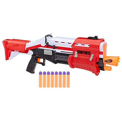 Nerf Fortnite TS Blaster - Pump Action Dart Blaster