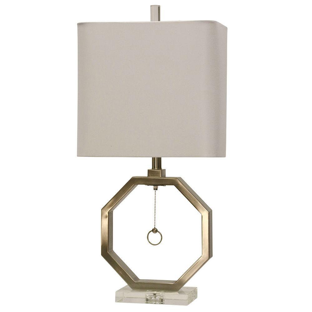 Octogan Table Lamp