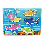 Pinkfong Baby Shark Wooden Sound Puzzle by Cardinal