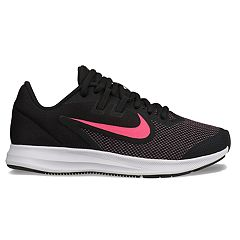 a51fc83b1864 Nike Downshifter 9 Grade School Kids  Sneakers. Black Hyper Pink ...