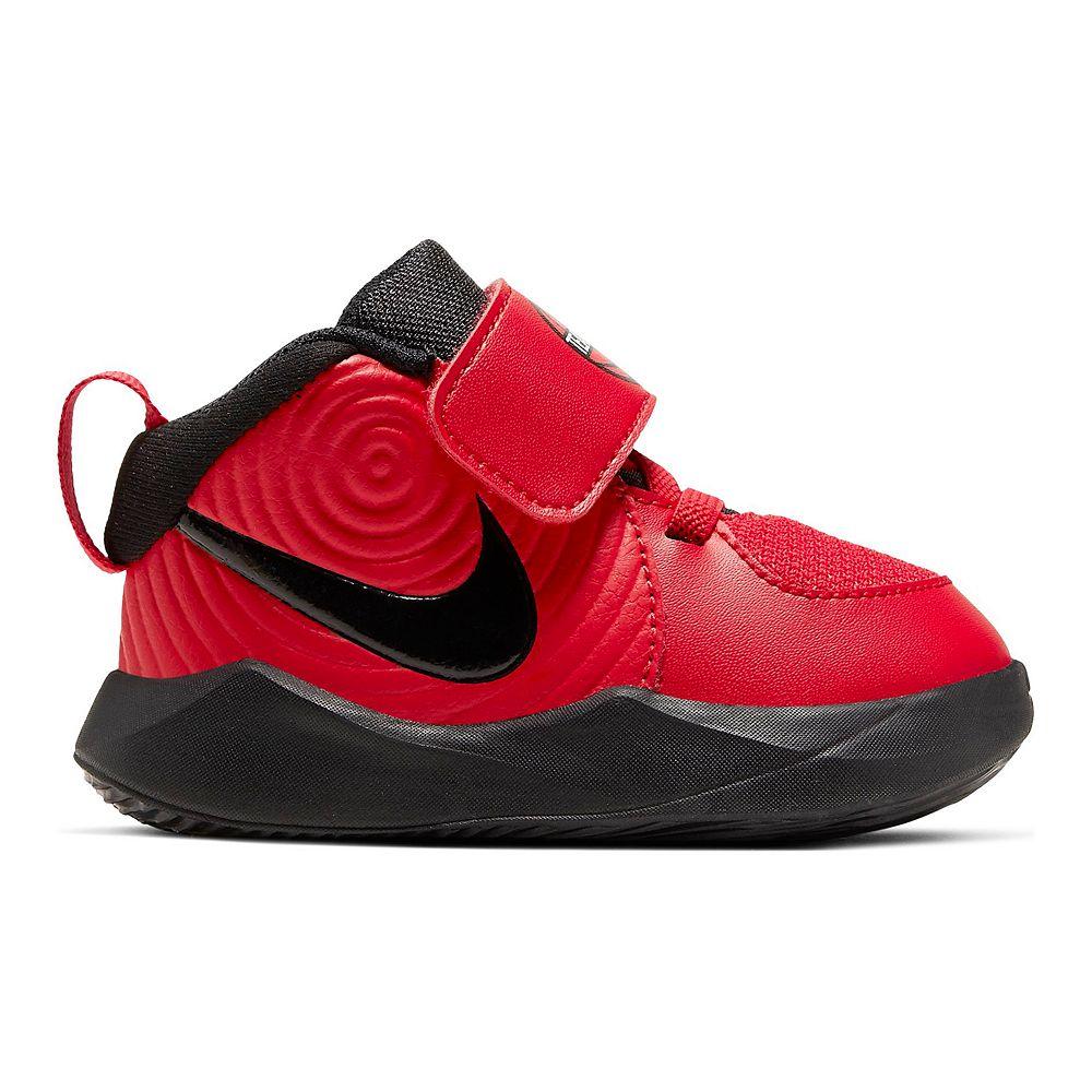 Nike Team Hustle D9 Toddler Kids' Basketball Shoes