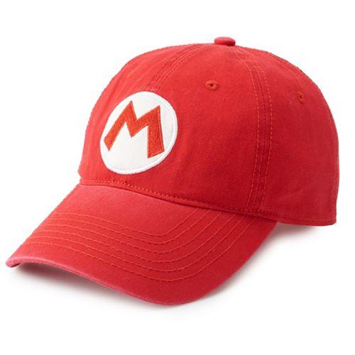 Super Mario Icon Baseball Cap