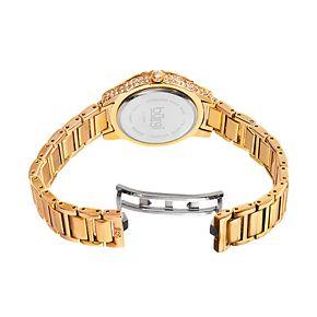 burgi Women's Crystal & Diamond Accent Watch