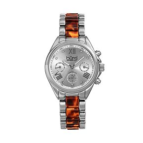 burgi Women's Two Tone Watch