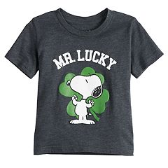 Baby Boy Jumping Beans® Peanuts Snoopy ''Mr. Lucky' St. Patrick's Day Graphic Tee