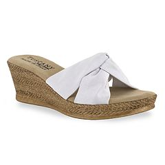 f7776e961dd9 Tuscany by Easy Street Dinah Wedge Sandals
